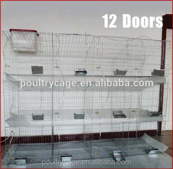 Cheap Metal Rabbit Cage For Female Rabbit/ Baby and Mother Rabbit/ Commercial Rabbit