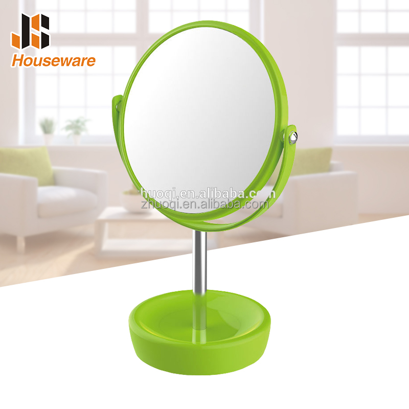 Plastic Free Standing Magnifying Shaving Mirror