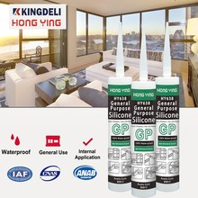 General Purpose Cartridge Acetic Silicone Sealant For Glass And Door