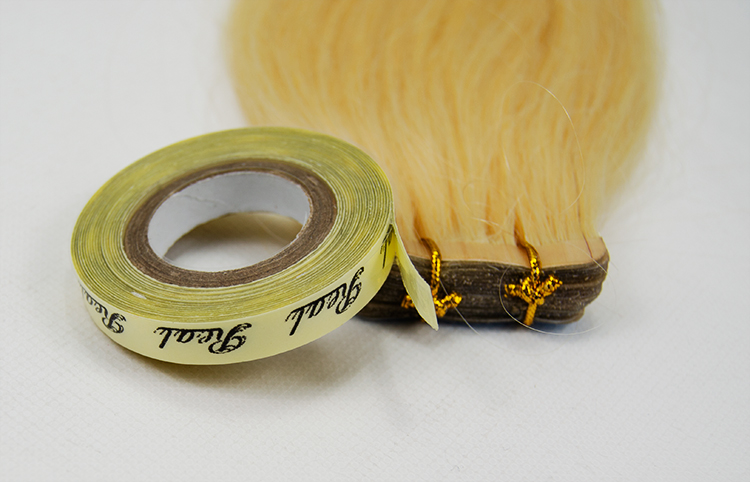 Tape hair extension sticker skin weft glue for human hair extension