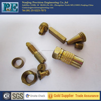Custom Specifications Brass Cnc Turned Hardware
