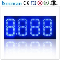 outdoor waterproof clock ip65 waterproof large led digital clock race timer warterproof oil gas station led price sign