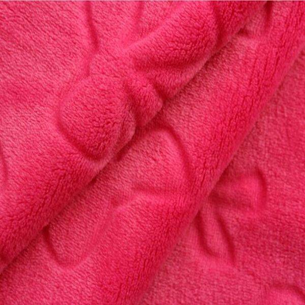 new produaction fasion bathrobe flannel fleece with cutting fabric