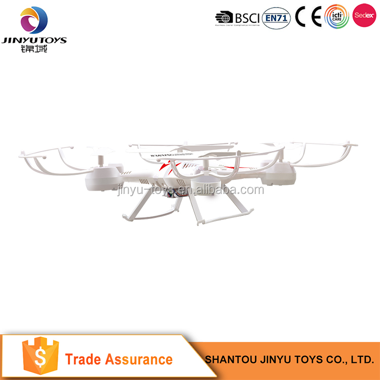 Electronic remote control led flying toy 2.4G 6 axis quadcopter model