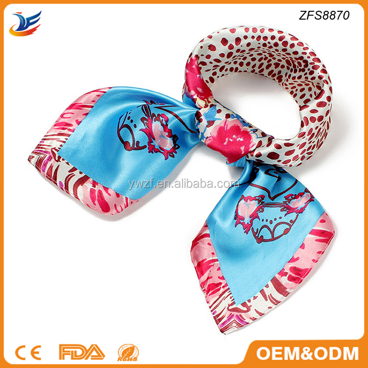 wholesale China digital print fashion thai silk scarf