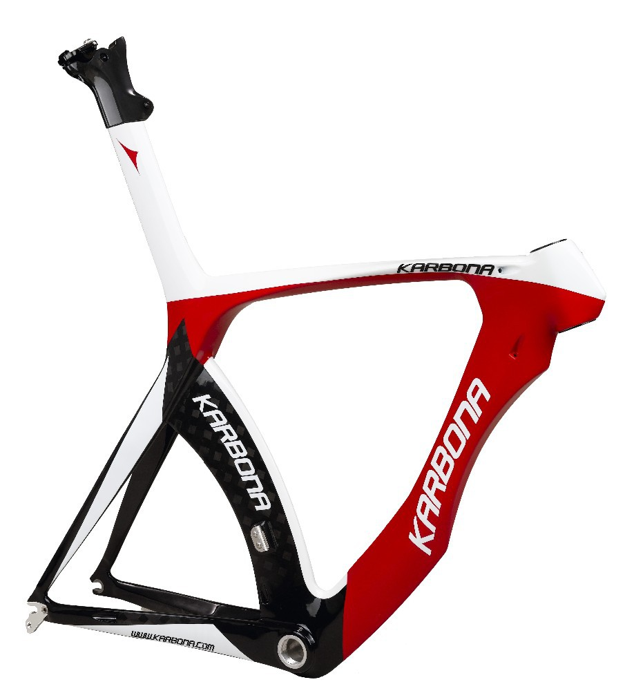 Karbona Time trial carbon bicycle frame 74/76 degree adjustable