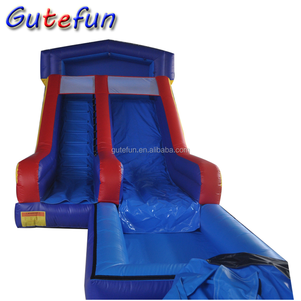 cheap giant kids detachable inflatable pool big water slides for sale