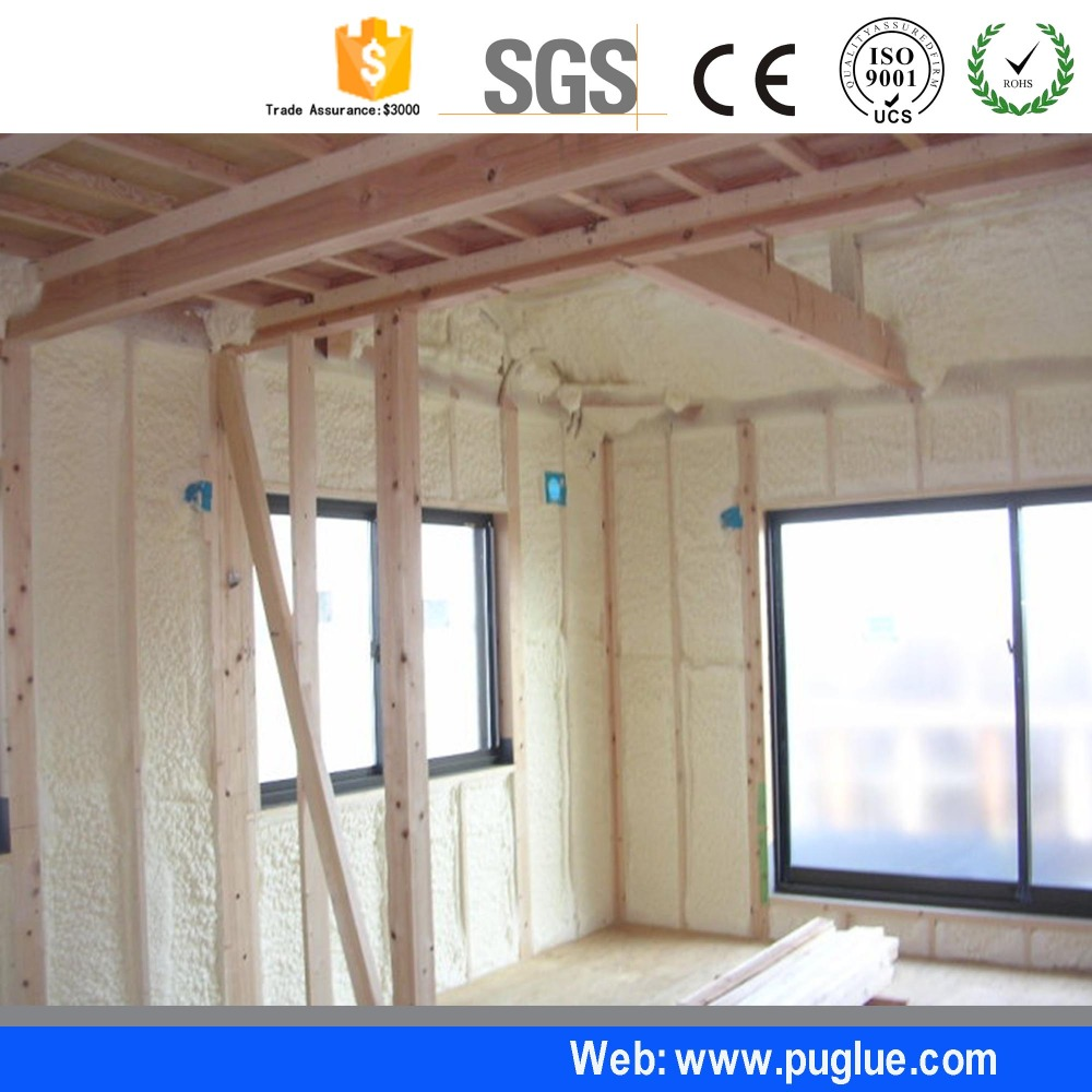 China best Closed cell spray polyurethane foam /procomil spray