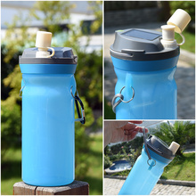 SORBO 2017 Best Selling Products Solar Collapsible Water Bottle LED Light Battery Camping Lantern