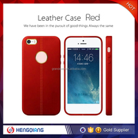 China supplier good quality leather case for iphone 6 case