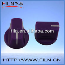 Purple FL12-20 rubber steering wheel thermostat knob spinner