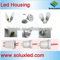3W led bulb parts E27 including pcb/cover/ body/base/screws