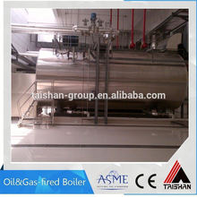 Industrial Gas Steam Boiler For Rice Mill