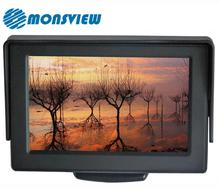 4.3 inch Foldable TFT Color LCD Car Security Monitor for Camera DVD VCR