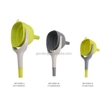 Food grade folding Silicone funnel oil funnel