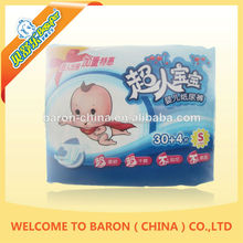 China manufacturer OEM baby useful soft super absorbent diaper world