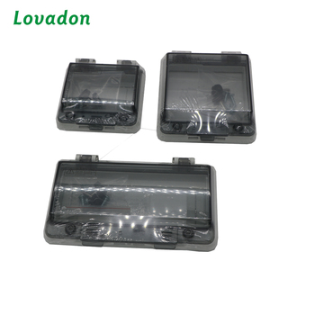 IP67 Transparent Contact Protection Window Hood / Distribution Box Monitor Window