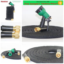 Christmas Gifts 2017 Flexible Water Hose Reel Expanding Magic Garden Pipe Brass Fitting Expandable Garden Hose