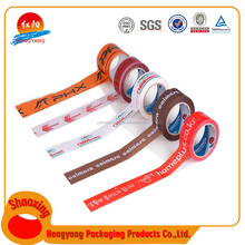 High quality custom printed packing tape logo printed tapes