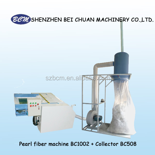 Pearl fiber machine and Collector