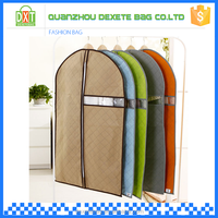 Top quality PEVA wholesale durable mens suit garment bag