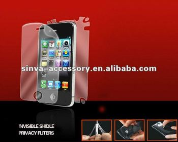 PayPal, retail package FOR iPhone5 Matte/Anti-glare removable Screen Protector