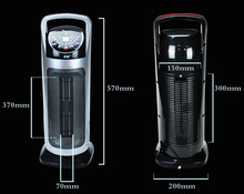 Electric Portable Oscillating Ceramic PTC Tower Fan Heater