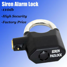 2013 Alarm Padlocks security lock box