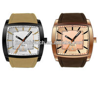 JA490 newest advanced square case waterproof wrist watches for men