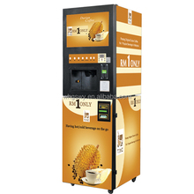 Bill coin operated Nescafe coffee vending machine Yinong GTS204