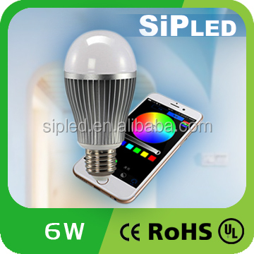 Smart Series Wifi Led Bulb,Milight Wifi 2.4g Remote Controller For Led Light Bulb With rgb+w Changeable