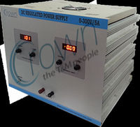 High Voltage DC Regulated POwer Supply