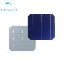 Monocrystalline 6 inch Solar Cells Solar Panel Material Wafer Mono Solar Cell for Sale