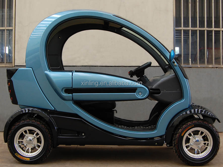 60V 4.0KW 2 seat small cars cheap electric cars four wheel electric car vehicle for sale with EEC Dot certification