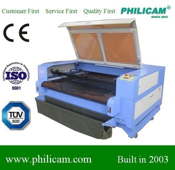 Philicam CO2 automatic cnc laser for acrylic/cloth/fabric/wood/leather