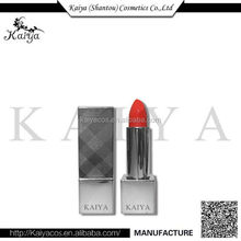 OEM Coemtics Makeup 2017 New Style Lipstick Manufacturing Companies Branded Luxury Silver Lipstick