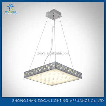 2016 latest new led pendant lamp with crystal decor for 2016 unique design home shiny decoration