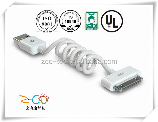 short leas time data cable usb driver for mobilephonemobiles4 with ISO9001-2008
