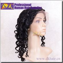 Guangzhou DK Hair High quality brazilian hair wig,lace wigs for white people