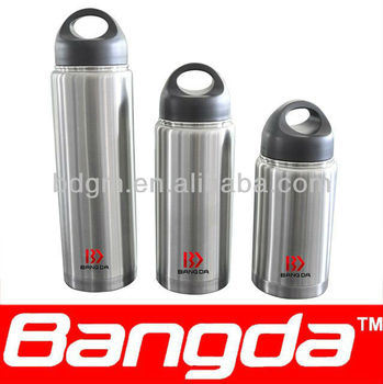 600ml stainless steel vacuum water bottle