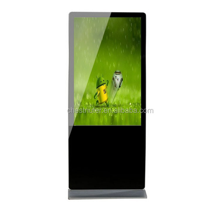 Hottest Android Wireless Advertising Kiosk Digital Signage for SuperMarket