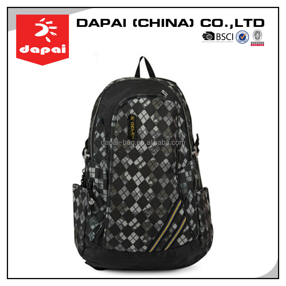 stock bag!Quanzhou dapai waterproof travel custom backpack bag
