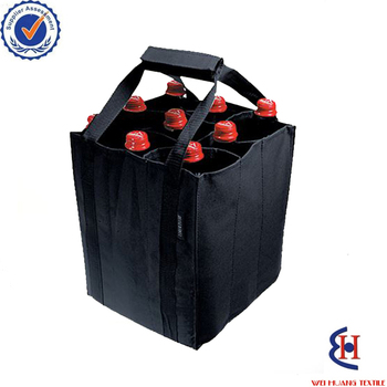 Made in China non woven wine bag