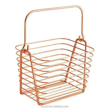 2016 New Handing Wire Storage Basket Ideal for your home , hotel ,restaurant, supermarket