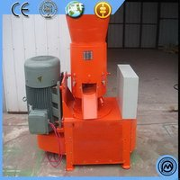 Newest hotsell for sale flat die compressed fully automatic lowest price wood pellet machinne