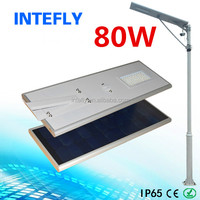 10m 80w solar powered led outdoor lighting