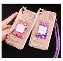 TPU Glitter Bling Bling Liquid Phone Case For Iphone5/5S/SE