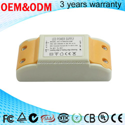 waterproof electronic with CE 3 years warrenty triac dimmable led driver 700ma