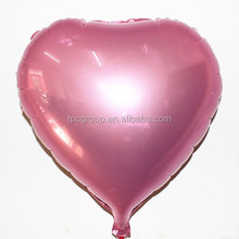 Newest Design Heart Shape Foil Balloon For Wedding Decoration