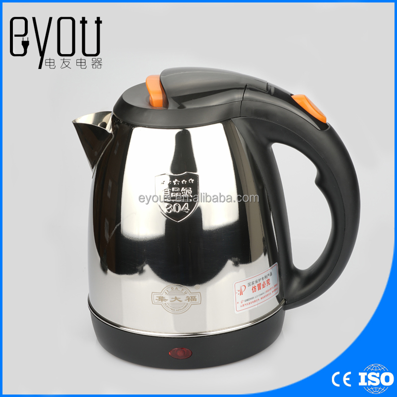JDC-2000E 1.8L Home <strong>appliance</strong> Household Stainless Steel Electric Kettle With Auto-Off Function Quick Heat Water Heating Kettle